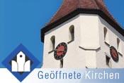 """Banner """"Geöffnete Kirchen"""" (herunterladen über rechte Maustaste, """"Bild speichern unter"""")"""
